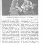 Article du Républicain Lorrain : Kédange-sur-Canner 14-12-2015